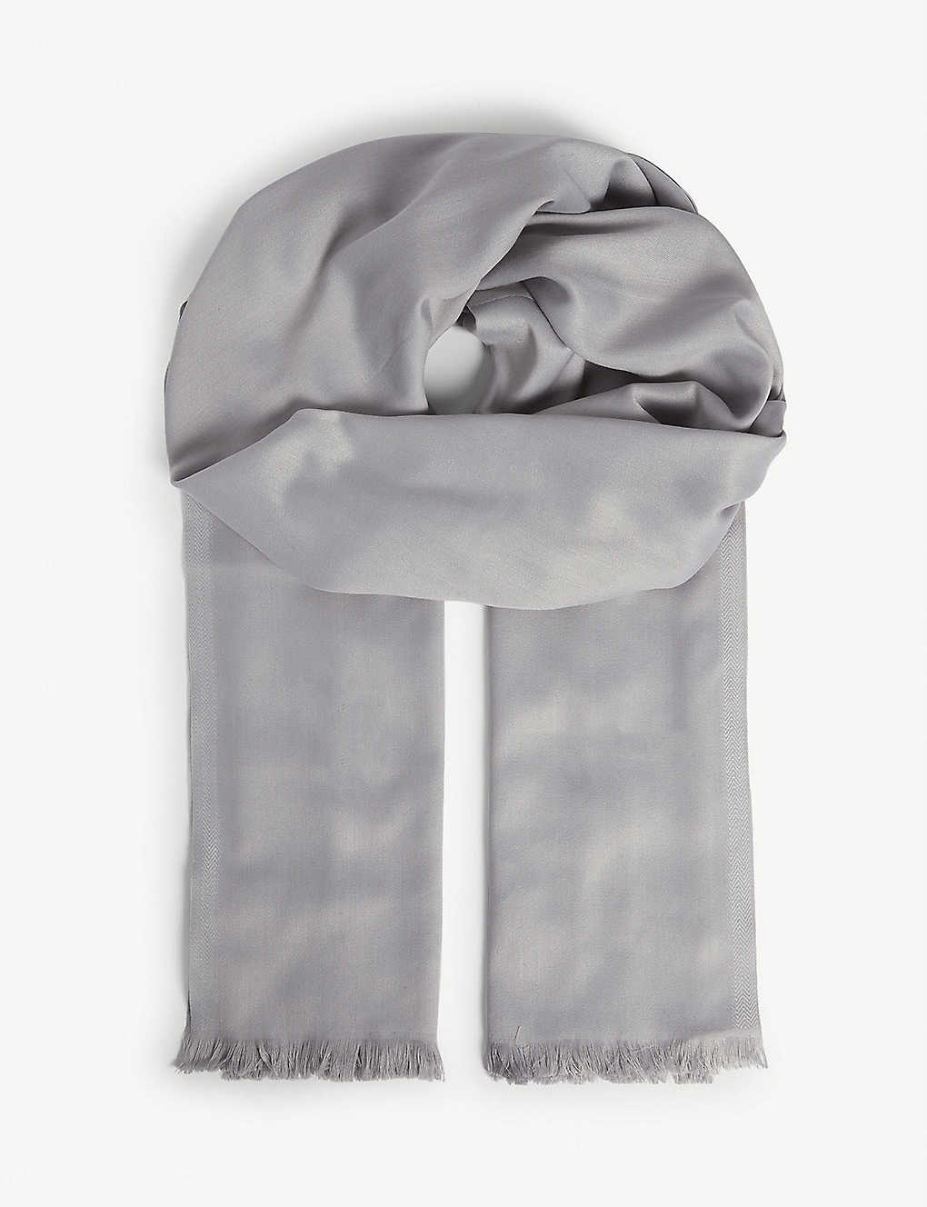 TED BAKER: Branded woven scarf