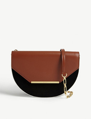 TED BAKER Half-moon cross-body bag