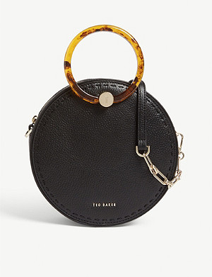 TED BAKER Resin hoop handle shoulder bag