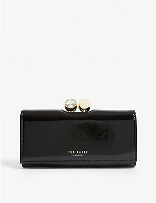 TED BAKER: Solange leather matinee purse