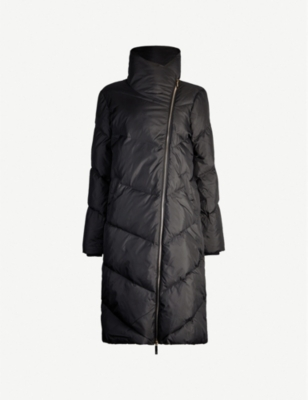 TED BAKER BREIY long padded shell-down jacket