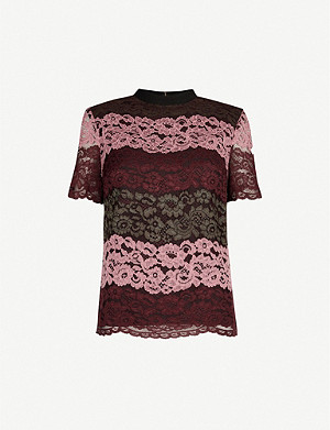 TED BAKER Merzey stretch-lace top
