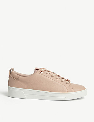 TED BAKER Tedah branded leather trainers