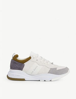TED BAKER Waverdi leather trainers