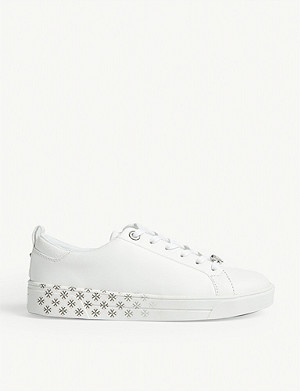 TED BAKER Roully leather trainers