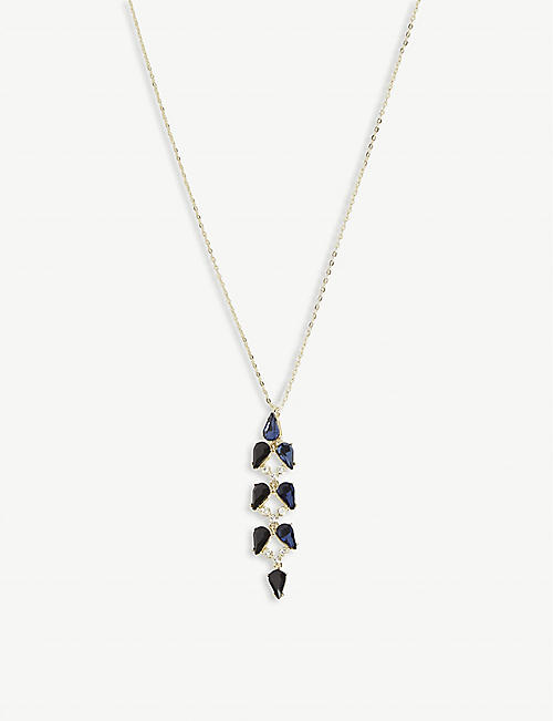 TED BAKER Martha Mayfair crystal pendant necklace