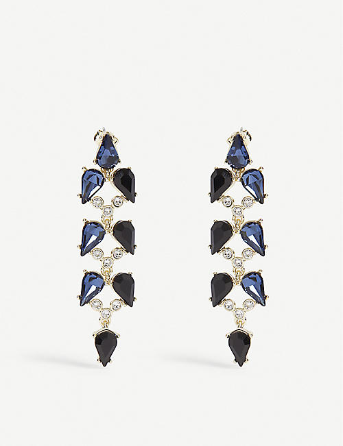 TED BAKER Marlua Mayfair crystal drop earrings