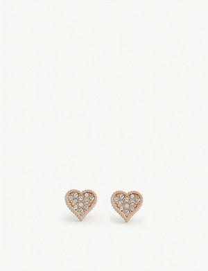 TED BAKER Hanila hidden heart earrings