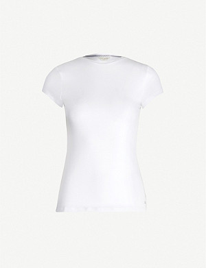 TED BAKER Fitted stretch-jersey T-shirt