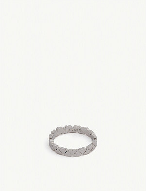 TED BAKER Harissa heart to heart ring