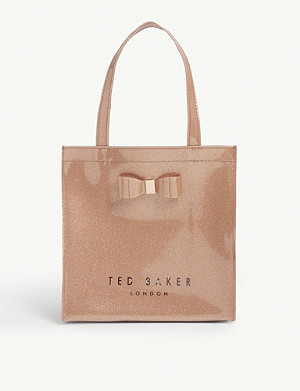 TED BAKER Glitter Icon tote bag