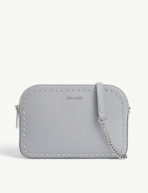 TED BAKER Flossie studded leather camera bag