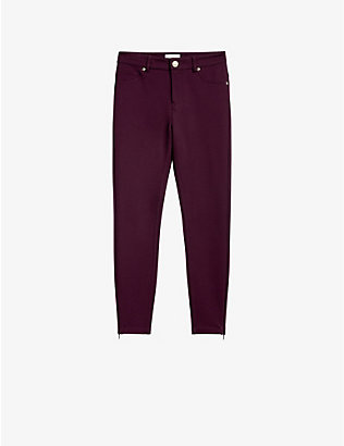 TED BAKER: Strenti skinny stretch-jersey trousers