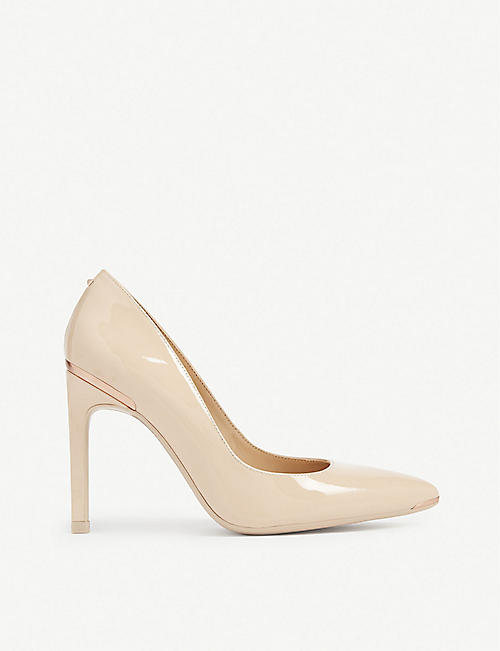 TED BAKER: Melnil patent leather courts