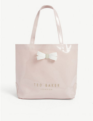 TED BAKER: Geeocon bow detail PVC tote