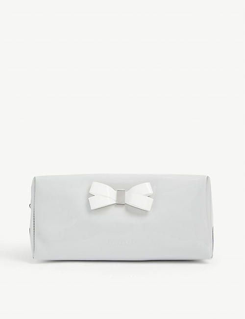TED BAKER Eulali bow detail make-up bag