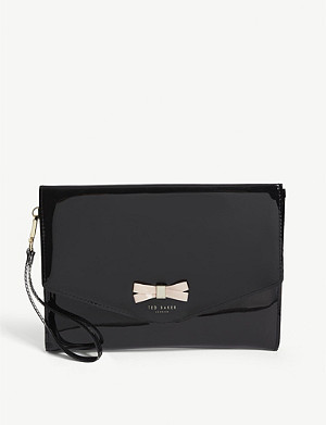 TED BAKER Canei bow detail pouch
