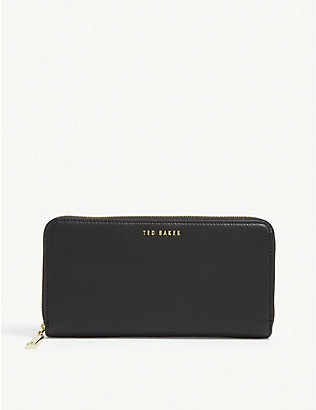 TED BAKER: Fayrie zipped matinee purse