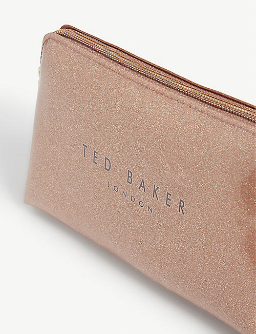 TED BAKER Lileyy glitter wash bag