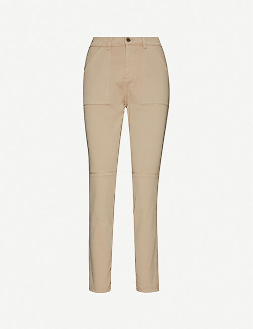 TED BAKER: Combat stretch-cotton trousers