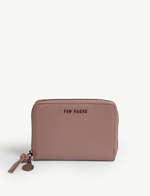 TED BAKER Harre leather purse