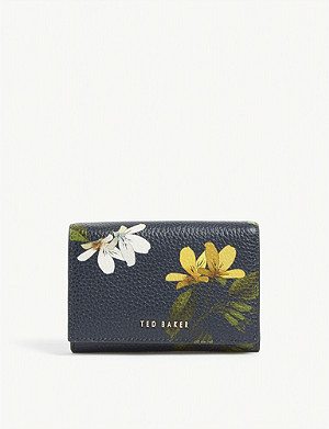 TED BAKER Amelii floral leather purse