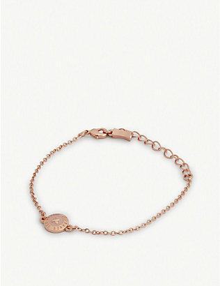 TED BAKER: Eisa enamel button necklace
