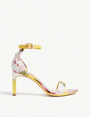 38ba0820b51 TED BAKER - Saldalv velvet sandals