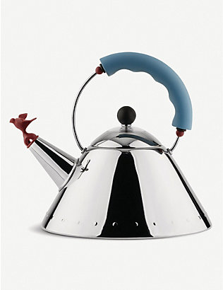 ALESSI: Stainless steel kettle 2l