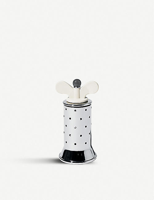ALESSI Stainless steel pepper mill 13.2cm