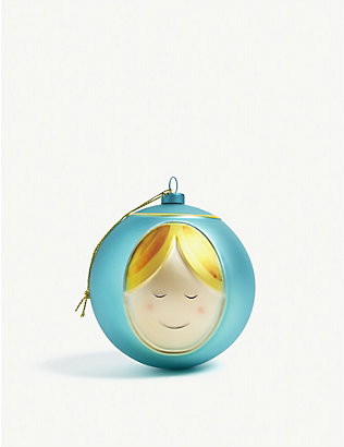 ALESSI: Madonna Christmas bauble 8cm