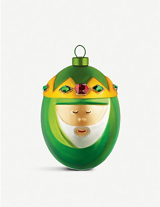 ALESSI: Melchiorre King Christmas bauble