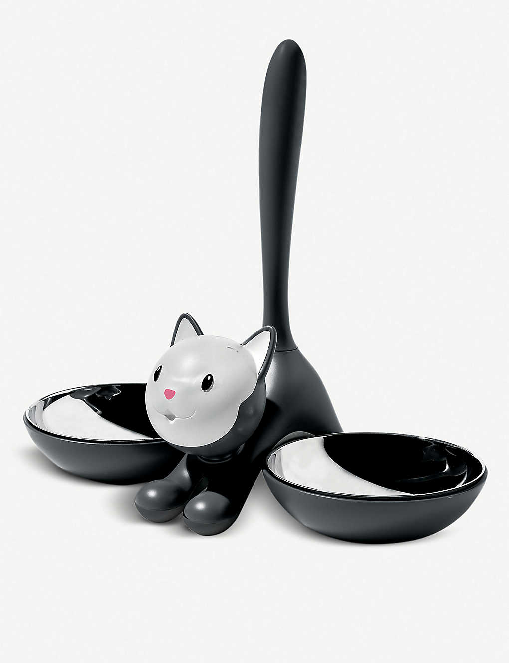 ALESSI: Tigrito stainless-steel cat bowl 28cm