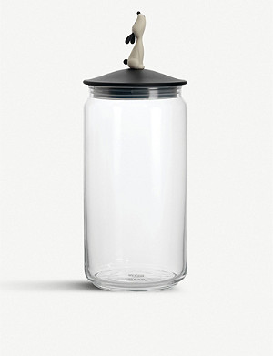 ALESSI Lula dog food jar