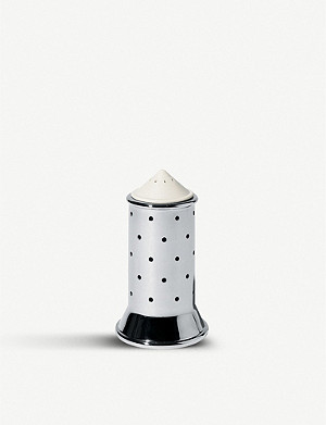 ALESSI Punctured stainless steel salt castor
