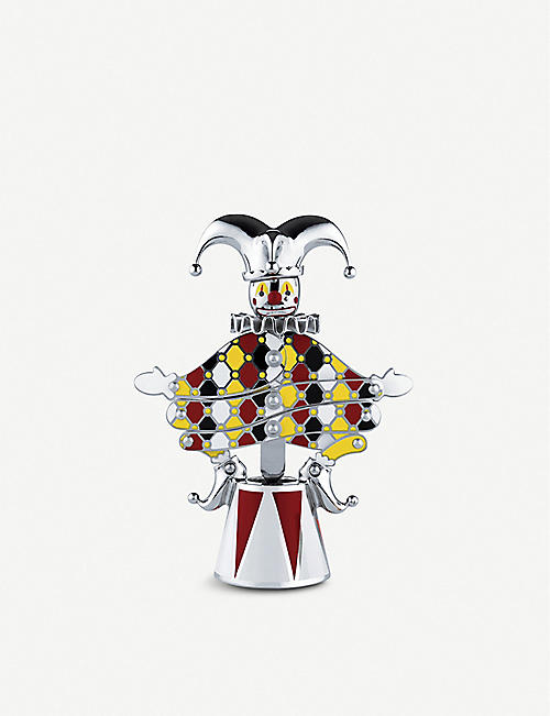 ALESSI: Limited edition The Jester stainless steel corkscrew