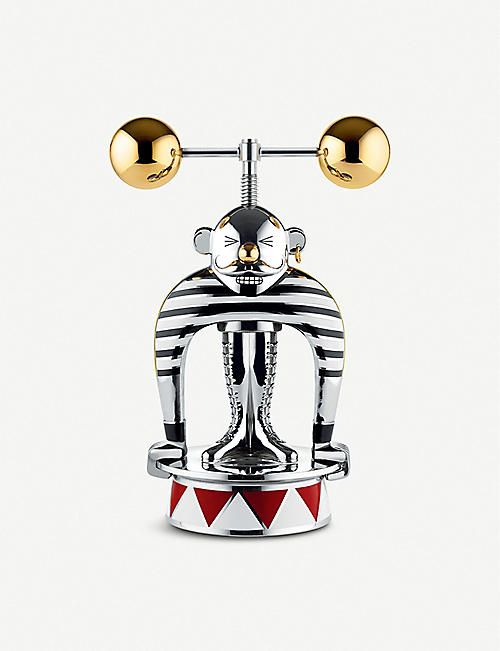 ALESSI: Limited edition Strongman stainless steel nutcracker