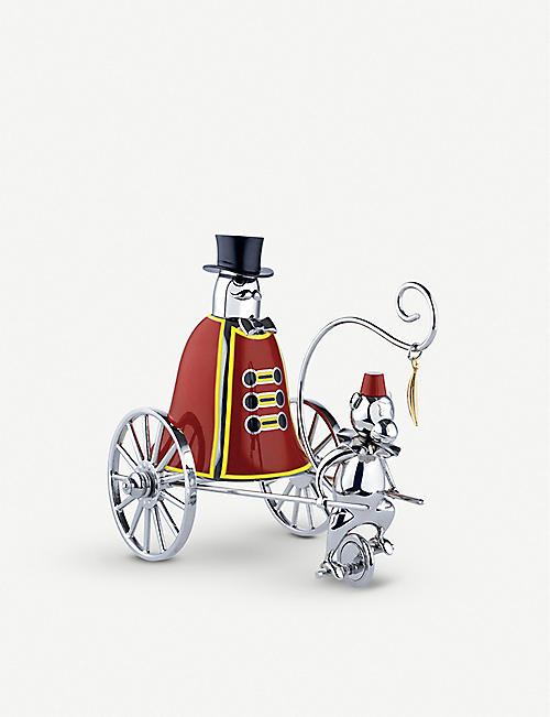 ALESSI: Limited Edition Ringmaster stainless steel call bell