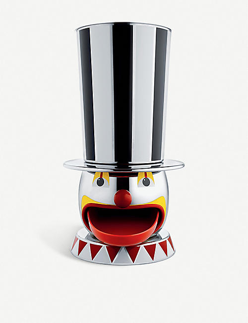 ALESSI Candyman stainless steel sweet dispenser