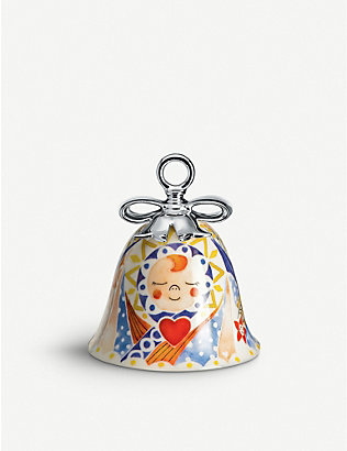 ALESSI: Holy Family Jesus ceramic ornament 7cm