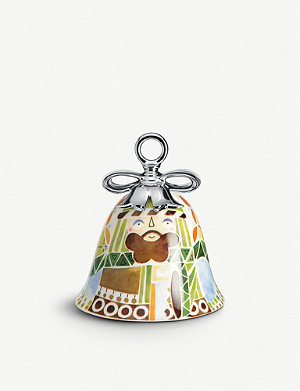 ALESSI Holy Family Josef ceramic ornament 7cm