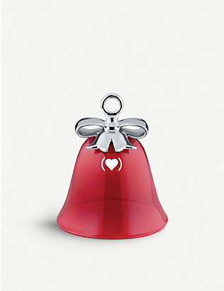 ALESSI: Dressed Christmas Tree ceramic ornament 7cm