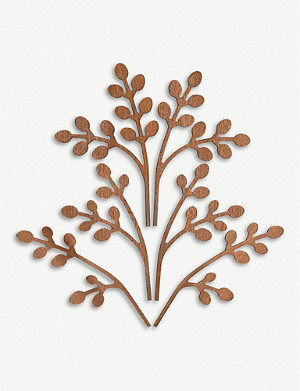 ALESSI Five Seasons Brrr mahogany diffuser leaf
