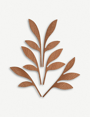 ALESSI Five Seasons Ahhh mahogany diffuser leaf