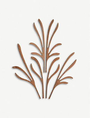 ALESSI Five Seasons Grrr mahogany diffuser leaf