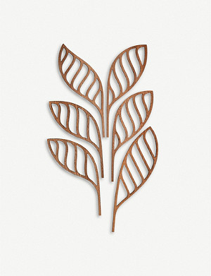 ALESSI Five Seasons Shhh mahogany diffuser leaf