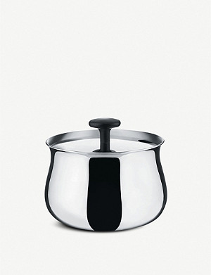 ALESSI NF03 Stainless steel sugar bowl