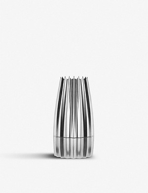 ALESSI Aluminium cast salt, pepper and spice grinder 14.2cm