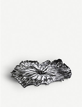 ALESSI: Lotus leaf table centrepiece
