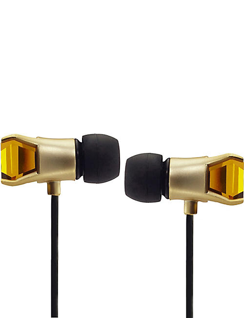 MAROO Gem Collection Amber In-Ear Headphones